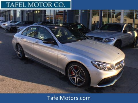 New 2018 Mercedes-Benz C 63 S AMG® Sedan RWD 4dr Car