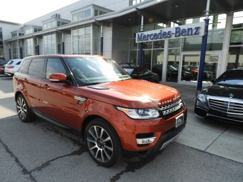 Pre-Owned 2014 Land Rover Range Rover Sport Supercharged SUV with Navigation