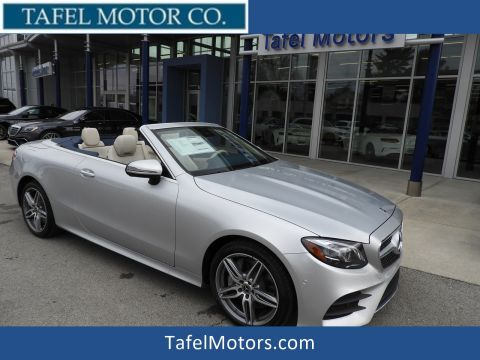 New 2018 Mercedes-Benz E 400 4MATIC® Cabriolet