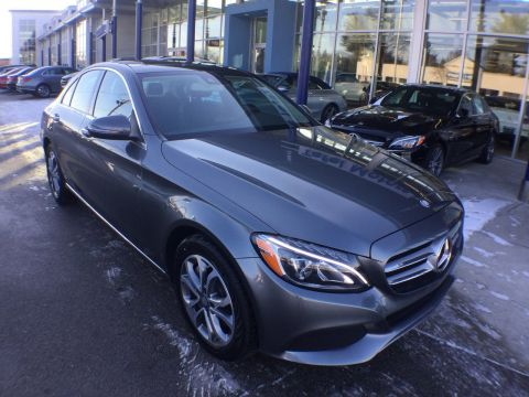 Certified Pre-Owned 2017 Mercedes-Benz C 300 4MATIC® Sedan
