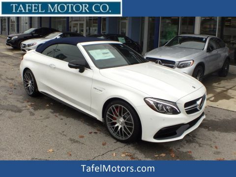 New 2018 Mercedes-Benz C-Class C 63 S AMG® Cabriolet