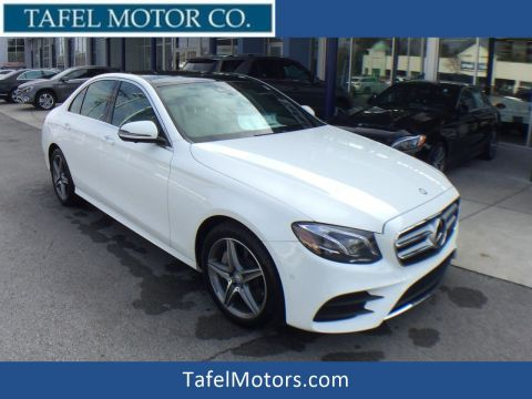 New 2017 Mercedes-Benz E 300 4MATIC® Sedan
