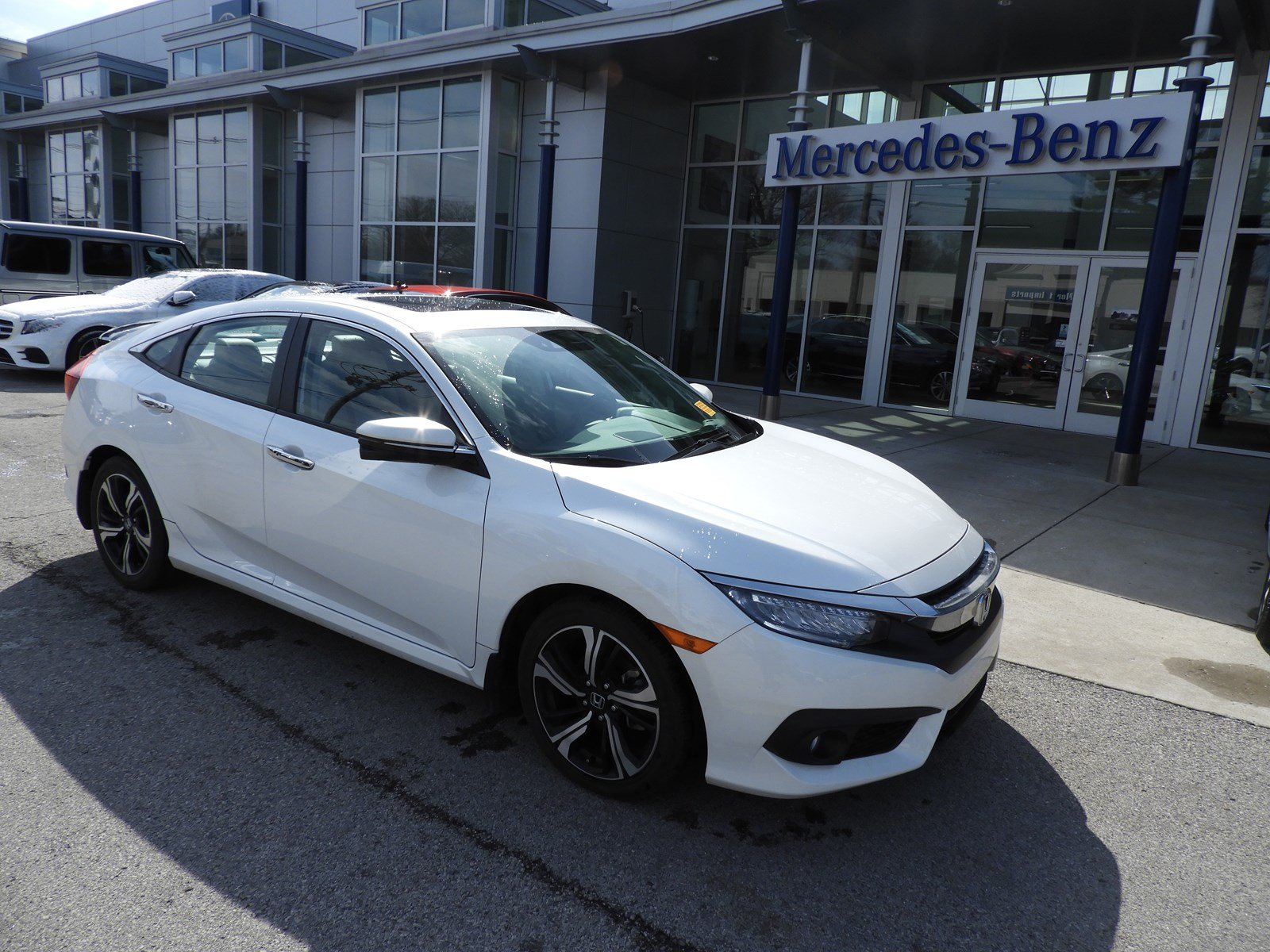 pre owned 2016 honda civic sedan touring sedan 4dr car in