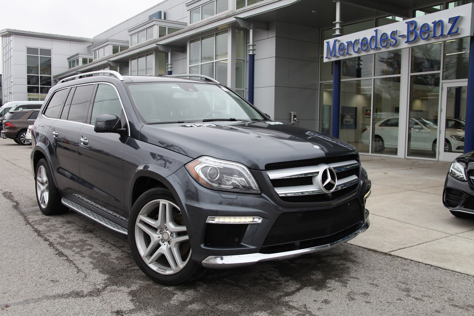 Certified Pre-Owned 2015 Mercedes-Benz GL GL 550 4MATIC® SUV