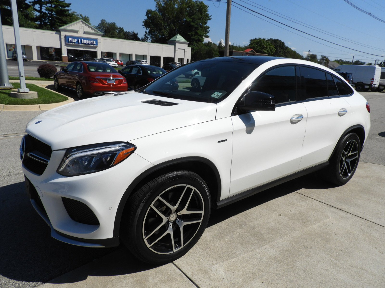 Certified Pre Owned 2016 Mercedes Benz GLE GLE 450 AMG SUV Coupe