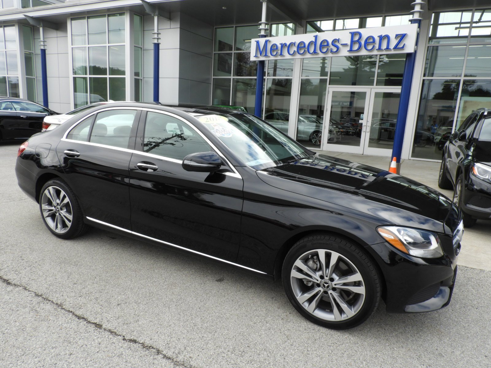 Certified Pre Owned 2018 Mercedes Benz C Class C 300 4MATIC Sedan
