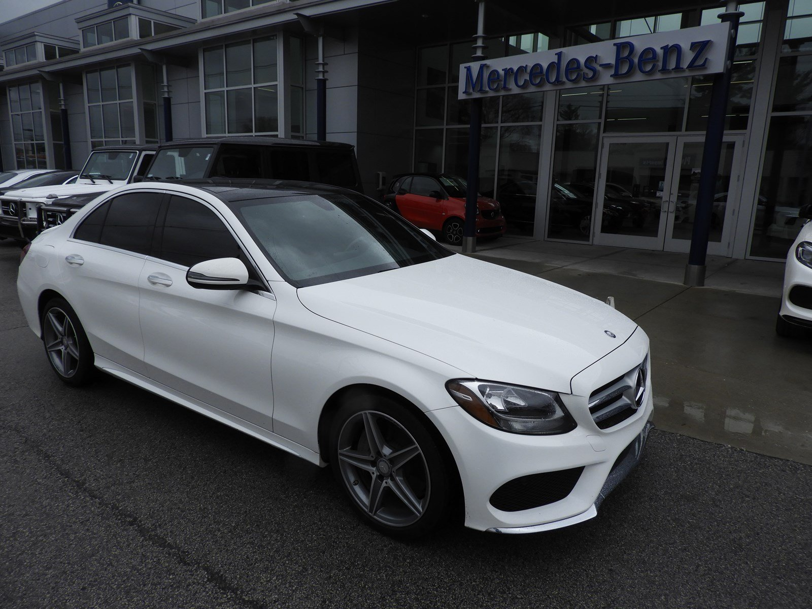 Certified pre owned 2016 mercedes benz c class c 300 for Mercedes benz credit card review