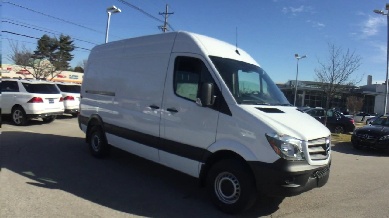 New 2017 Mercedes-Benz Sprinter Cargo Van 144 WB