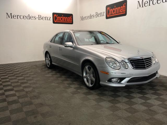Pre-Owned 2009 Mercedes-Benz E-Class 4dr Sdn Sport 3.5L 4MATIC®