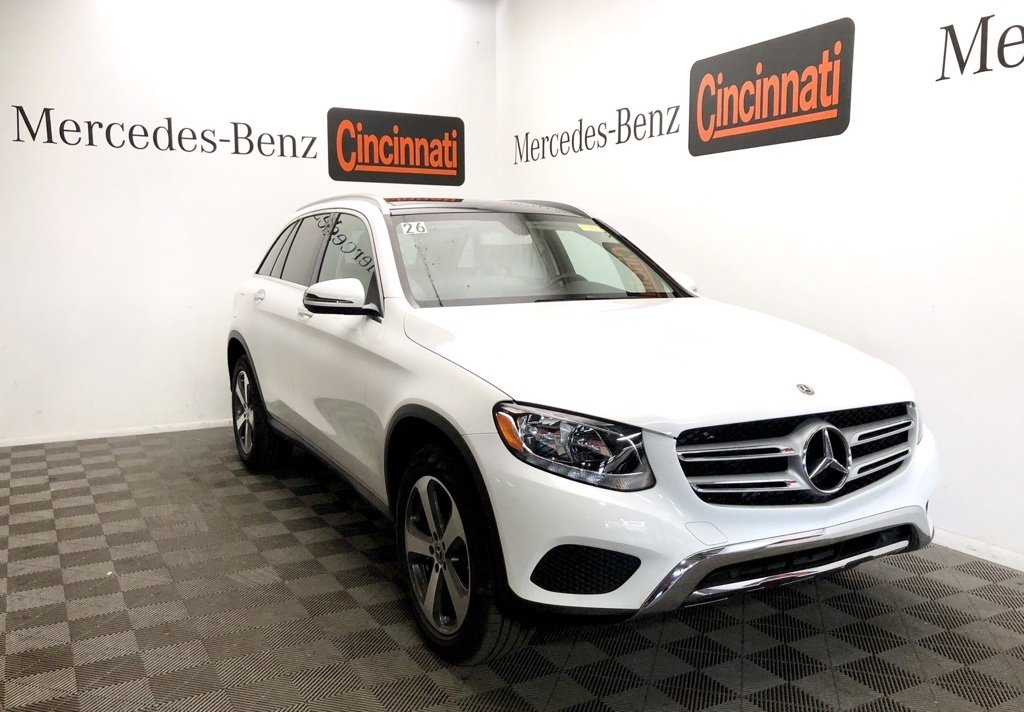 pre-owned 2018 mercedes-benz glc glc 300 4matic® suv 4d sport