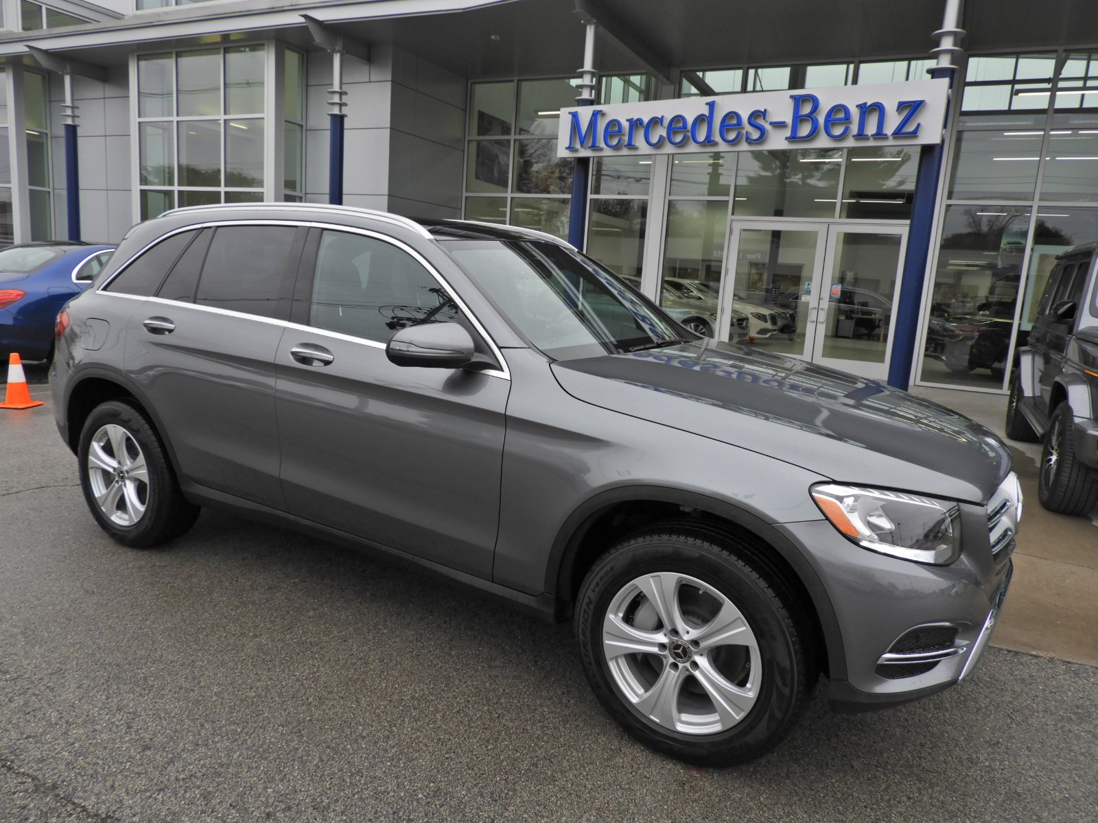 Certified Pre Owned 2018 Mercedes Benz GLC GLC 300 4MATIC SUV Sport