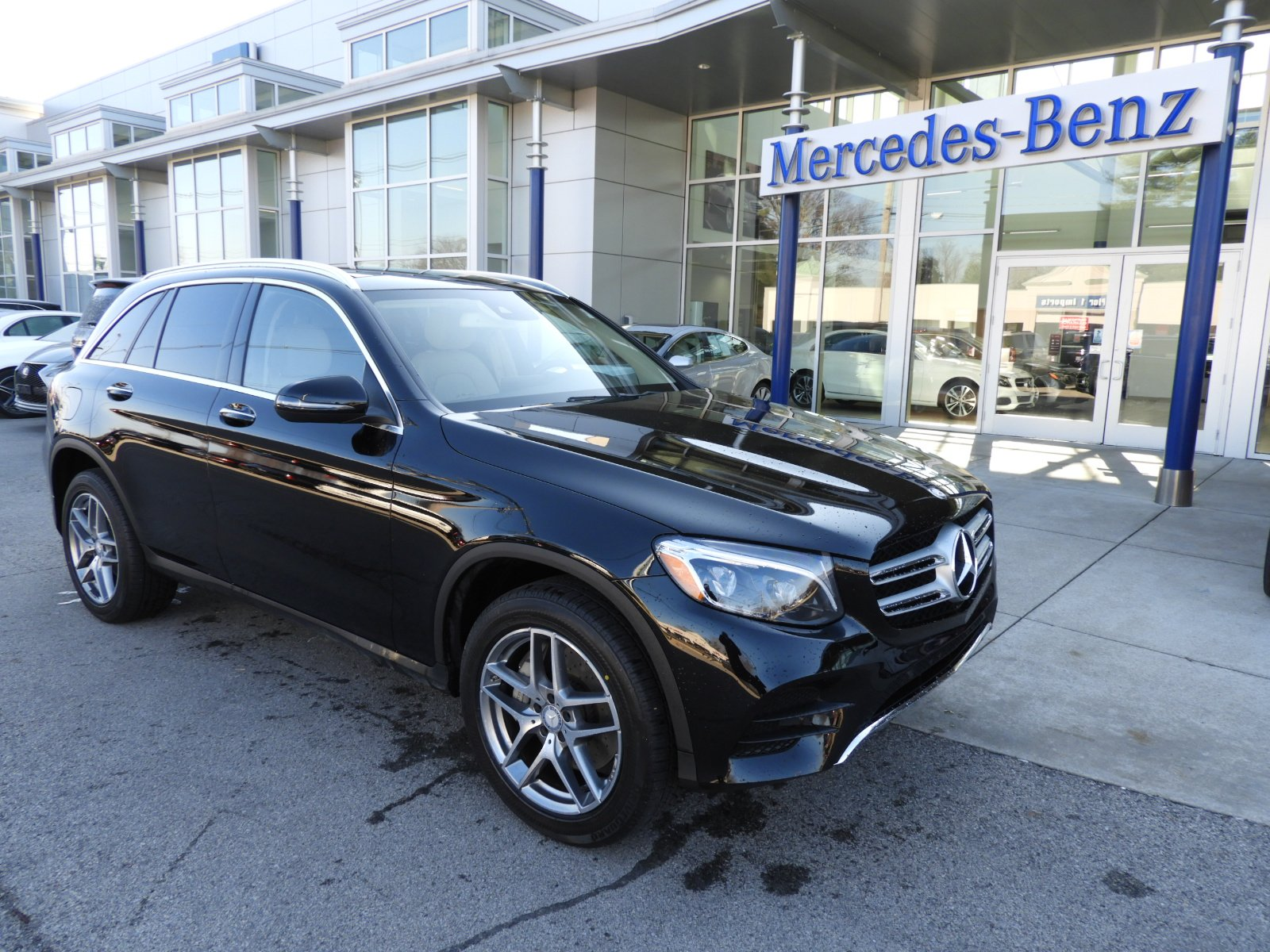 Certified Pre Owned 2016 Mercedes Benz GLC GLC 300 4MATIC SUV Sport