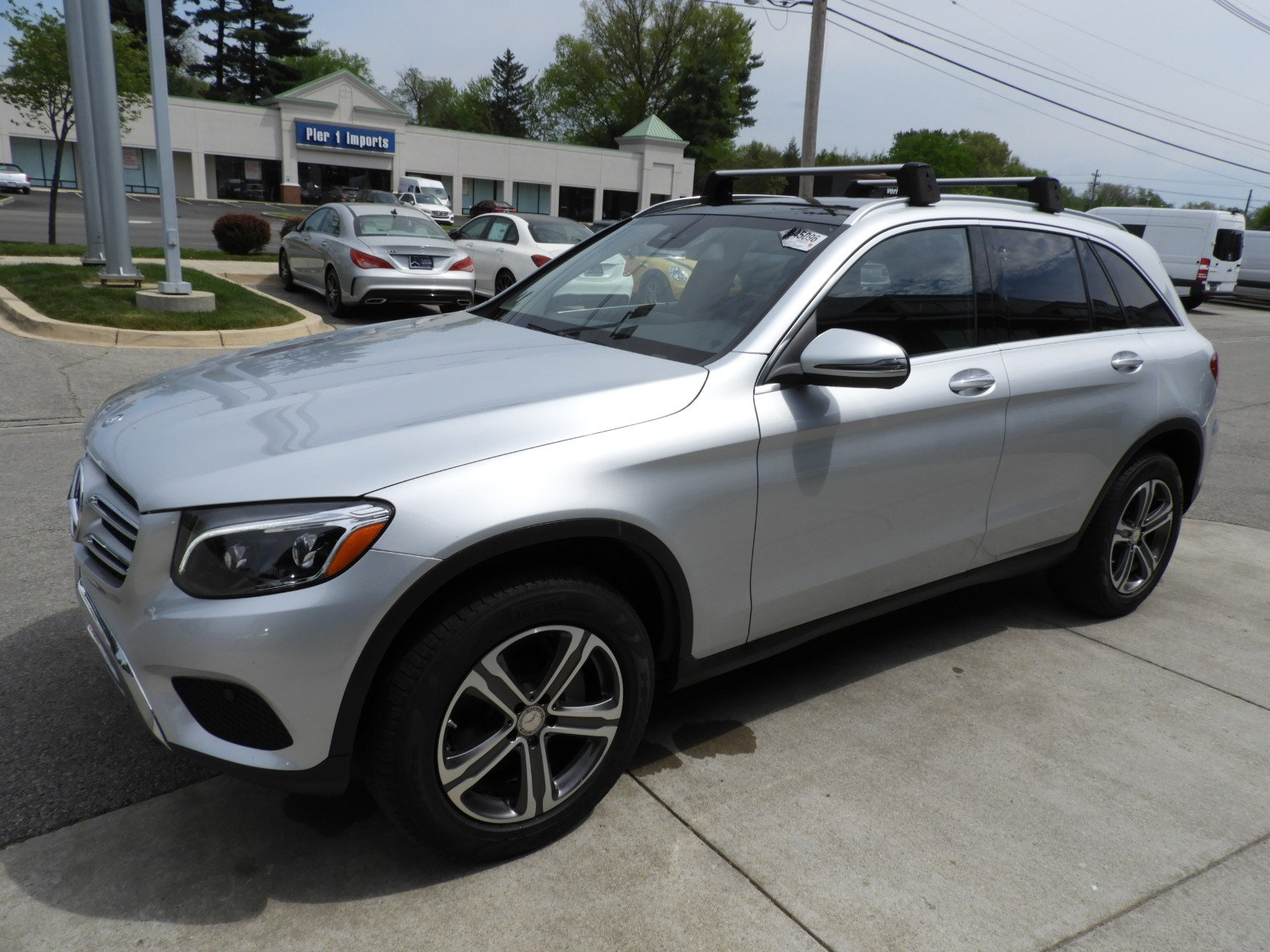 Pre owned 2016 mercedes benz glc glc 300 4matic suv sport for Mercedes benz credit card review