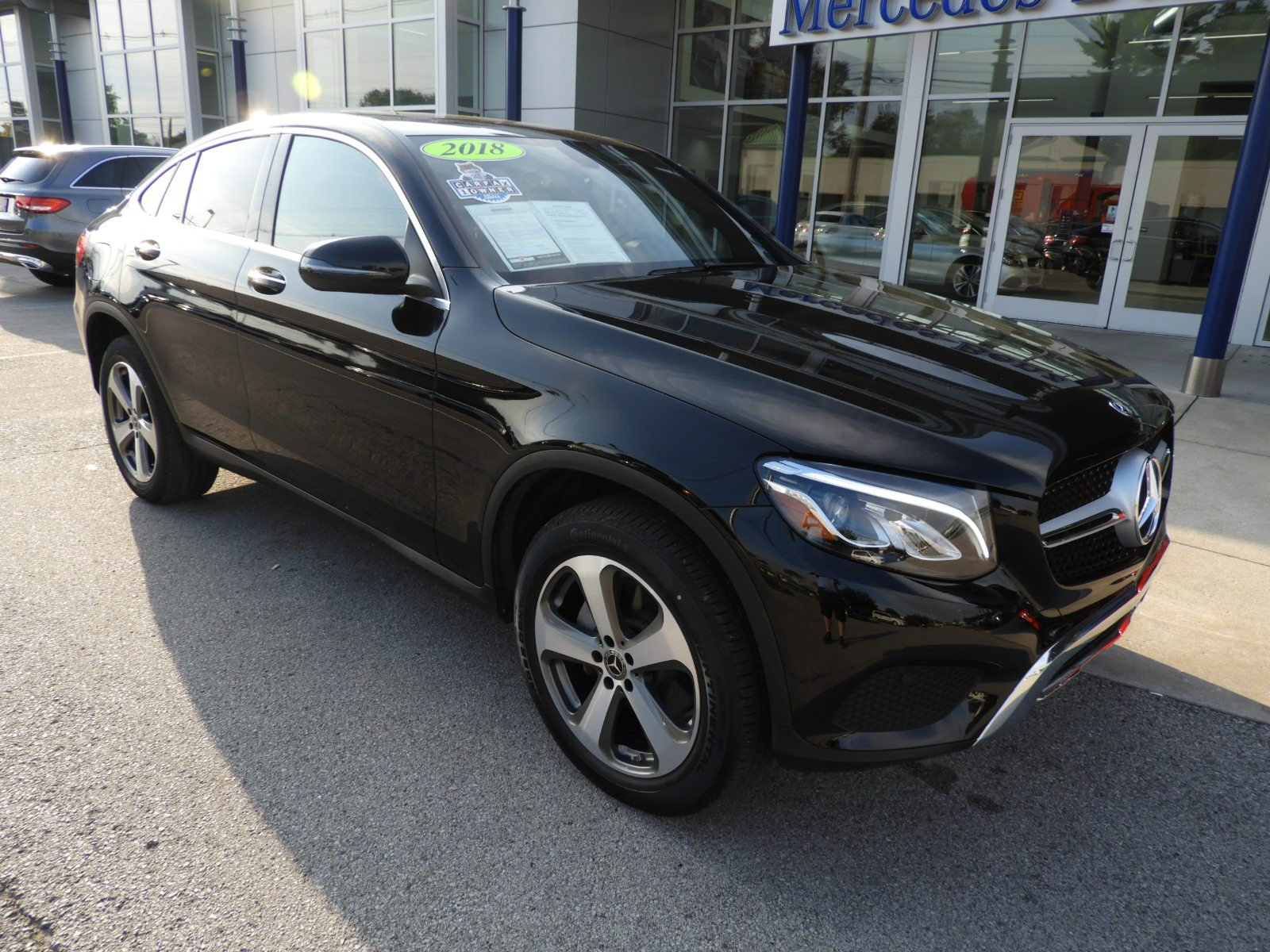 Pre Owned 2018 Mercedes Benz GLC GLC 300 4MATIC Coupe Coupe in