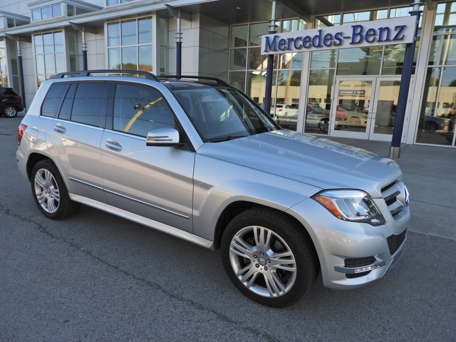 Certified Pre Owned 2014 Mercedes Benz GLK GLK 350 Sport Utility in