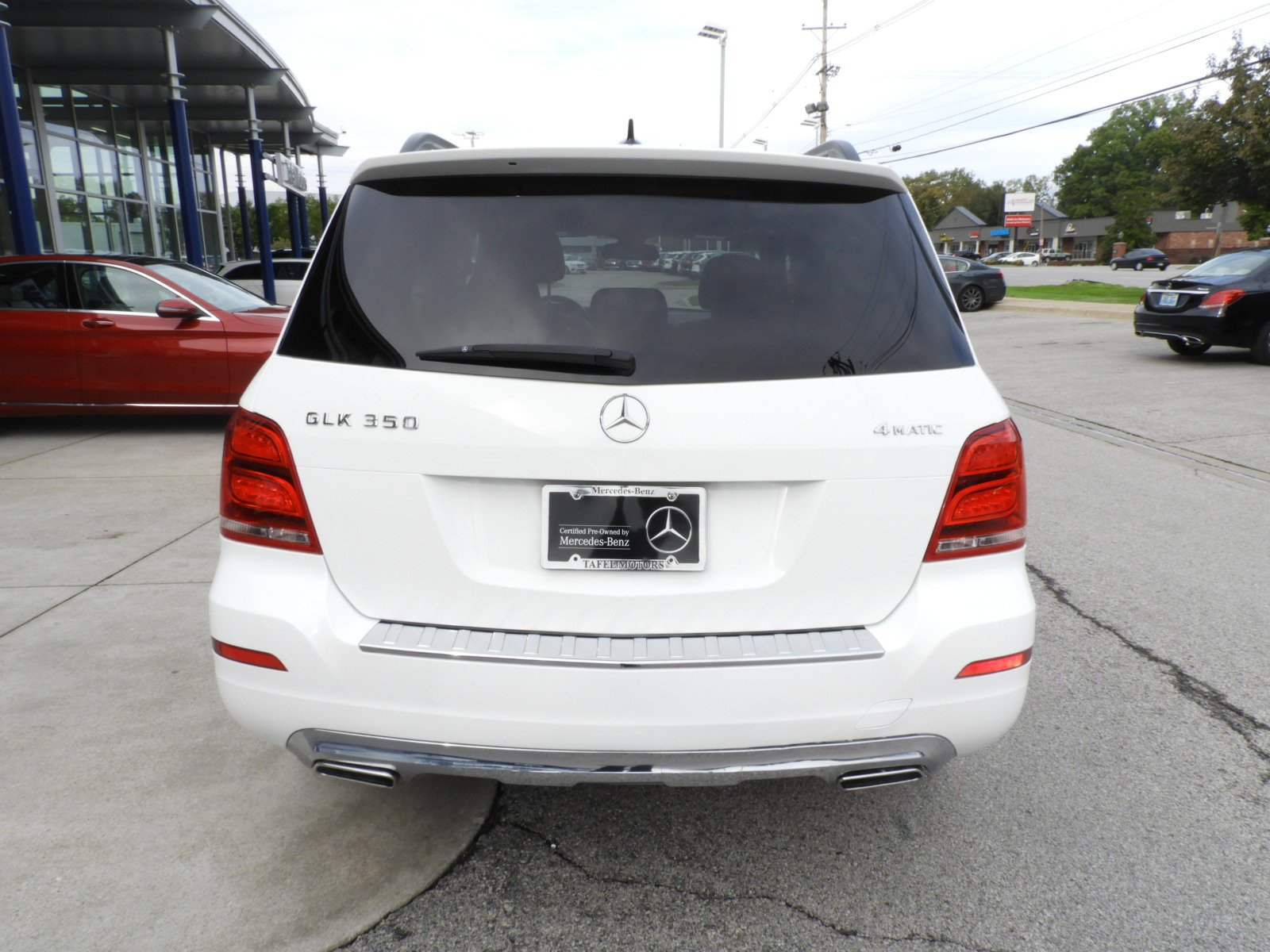 Certified Pre Owned 2014 Mercedes Benz GLK GLK 350 4MATIC SUV Sport