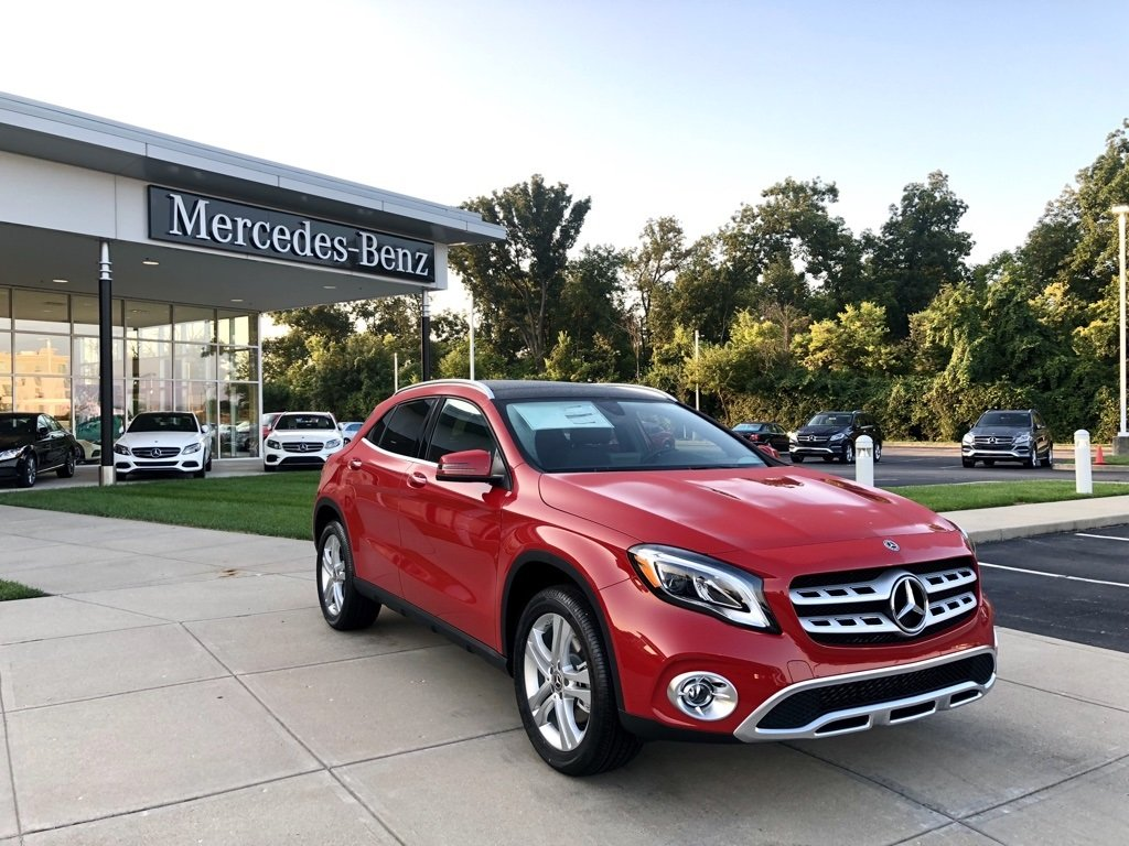 new 2019 mercedes benz gla gla 250 4matic suv sport. Black Bedroom Furniture Sets. Home Design Ideas