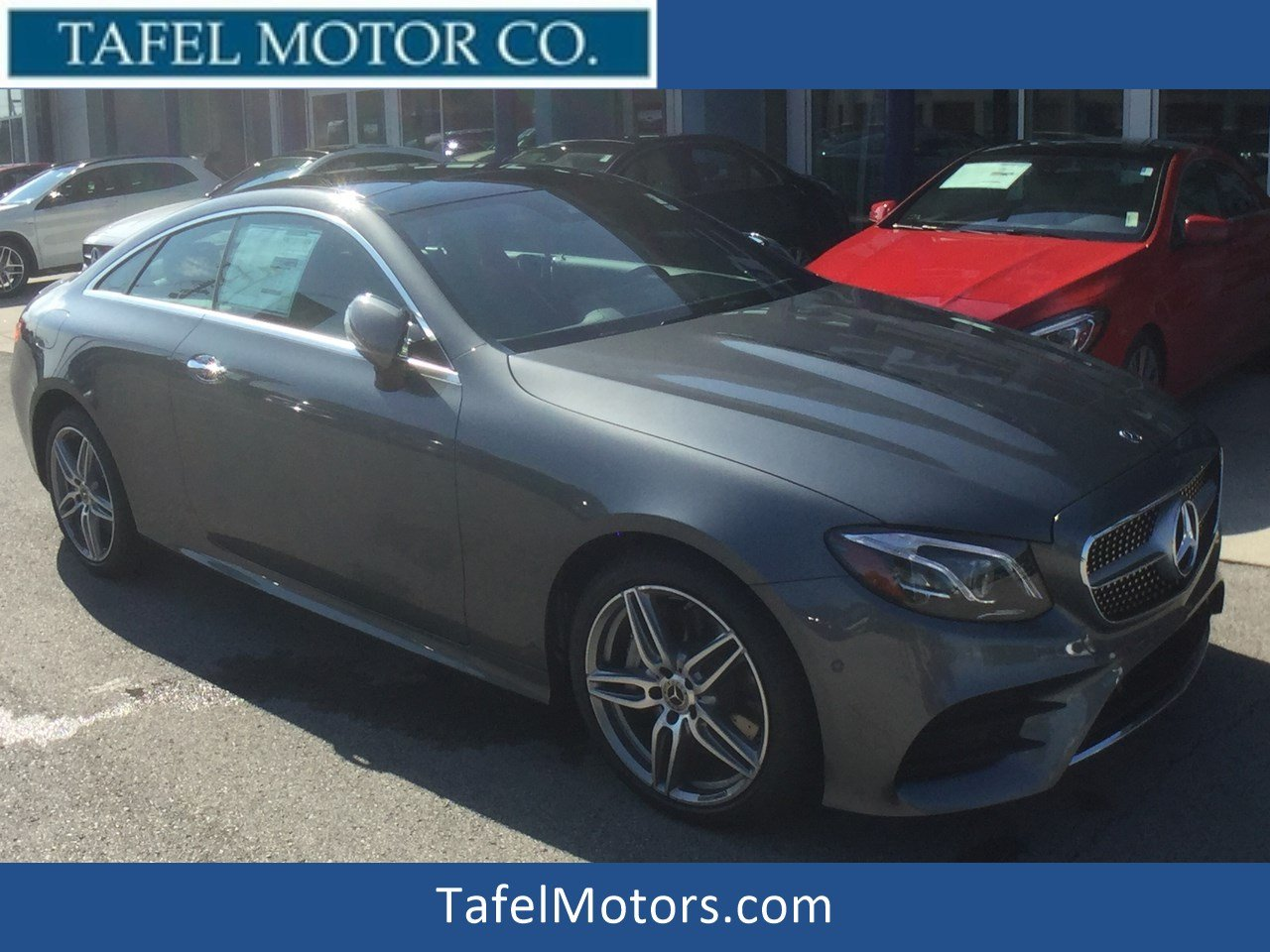 New 2018 mercedes benz e class e 400 4matic coupe coupe for Mercedes benz credit card review