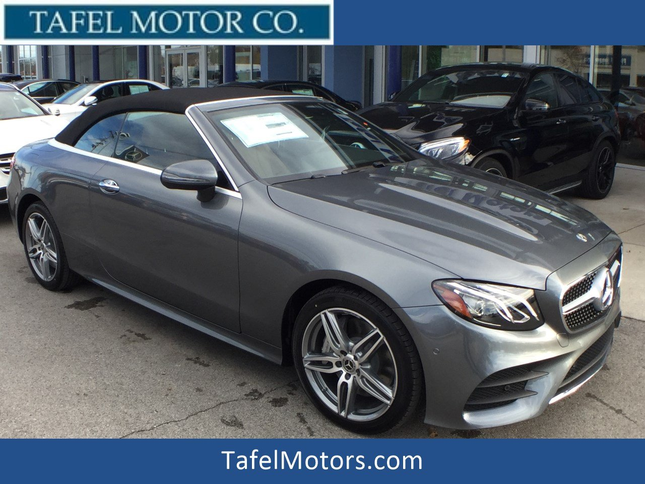 Mercedes E400 Convertible >> New 2018 Mercedes-Benz E-Class E 400 4MATIC® Cabriolet Convertible in Louisville #M17045 | Tafel ...