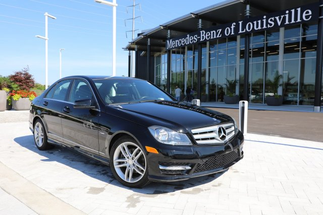 Pre Owned 2012 Mercedes Benz C 250 Rwd Sport Sedan Rwd 4dr Car
