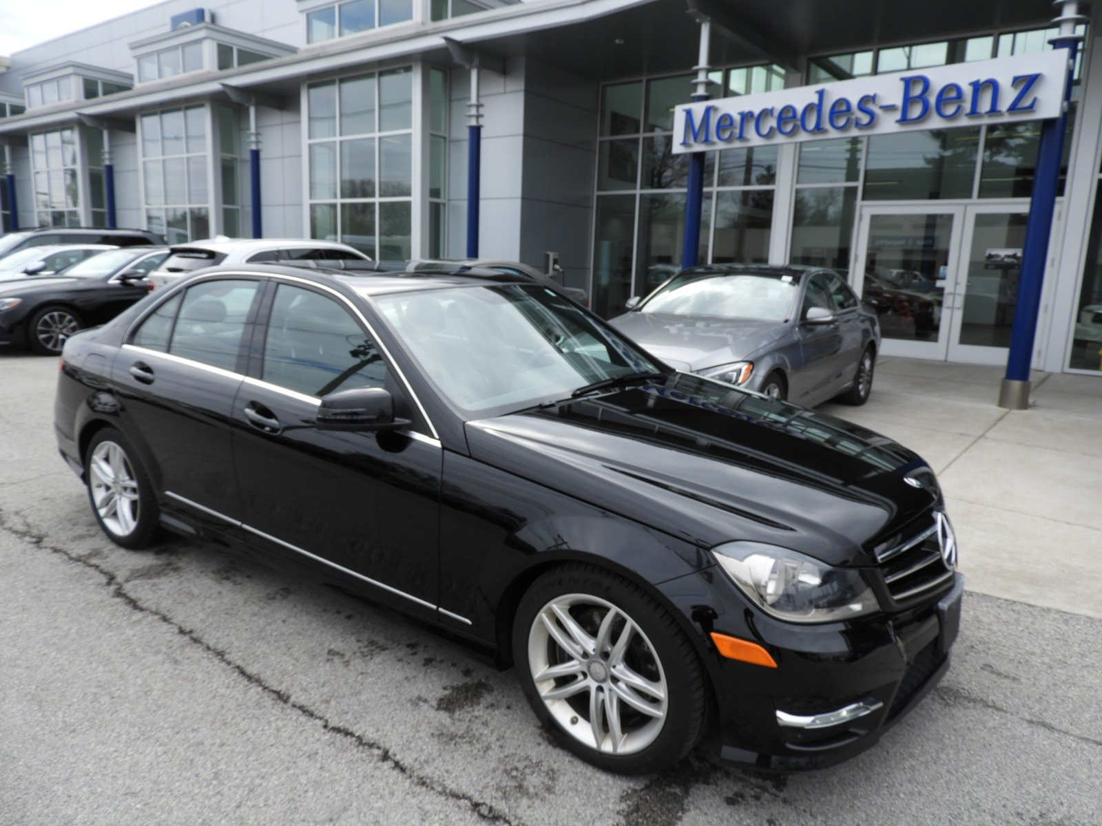 Pre owned 2014 mercedes benz c class c 300 4matic sport for Used mercedes benz 300