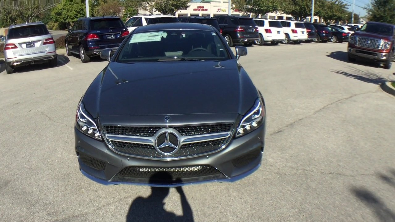 New 2018 Mercedes-Benz CLS CLS 550 4MATIC® 4-Door Coupe