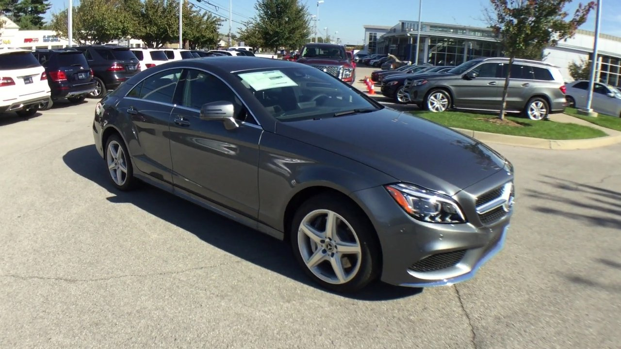New 2018 Mercedes Benz CLS CLS 550 4MATIC® 4 Door Coupe