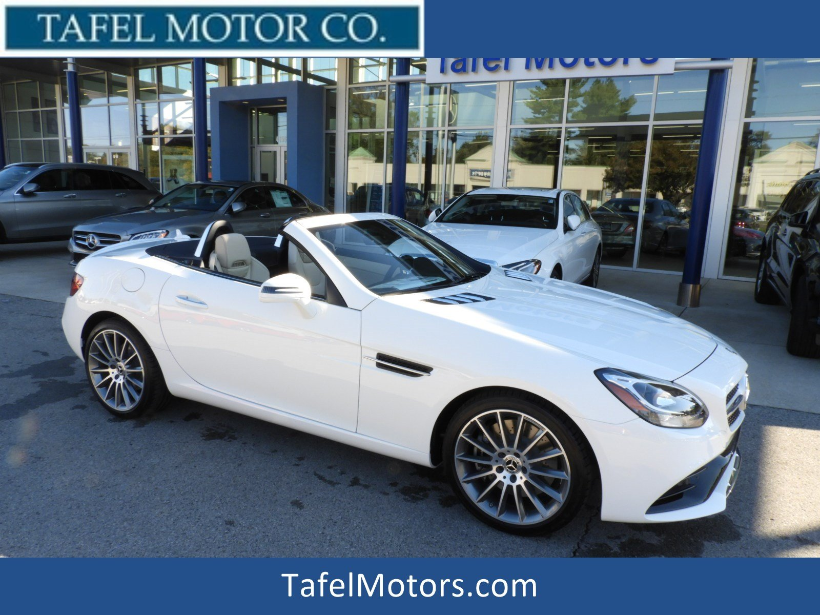 New 2019 Mercedes Benz SLC SLC 300 Convertible in Louisville M
