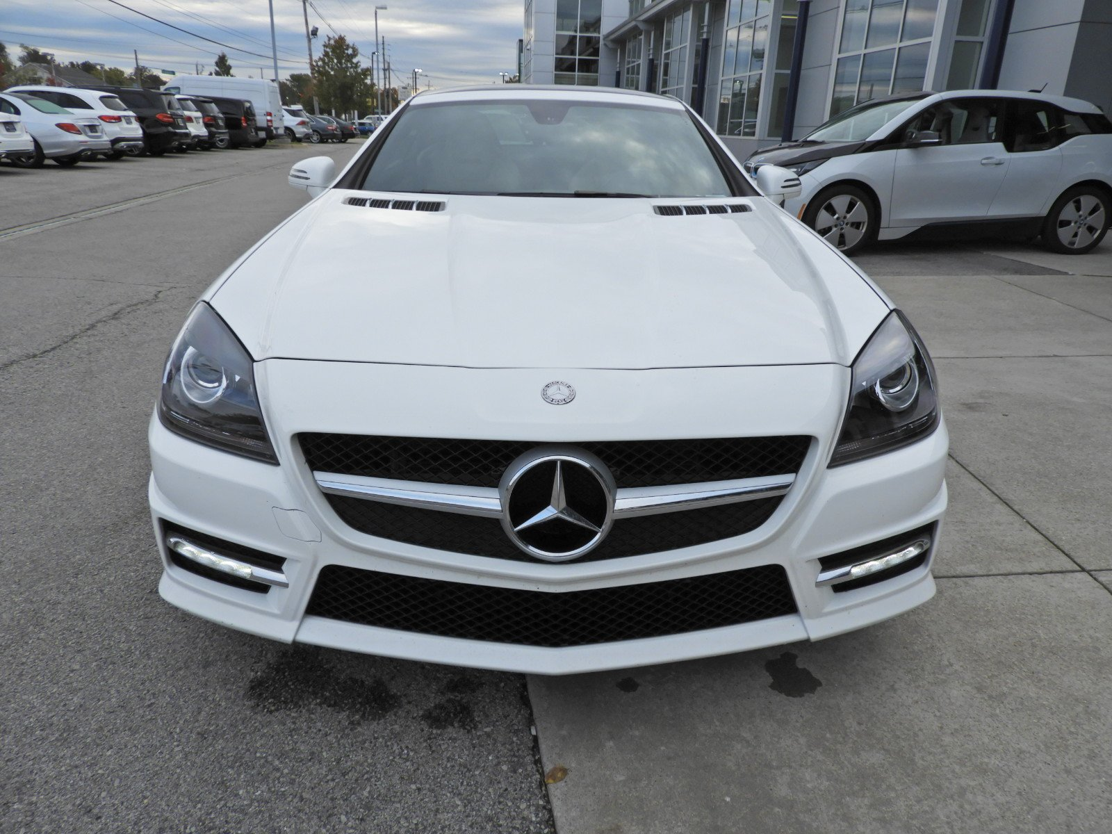 Certified Pre Owned 2015 Mercedes Benz SLK SLK 250 Roadster