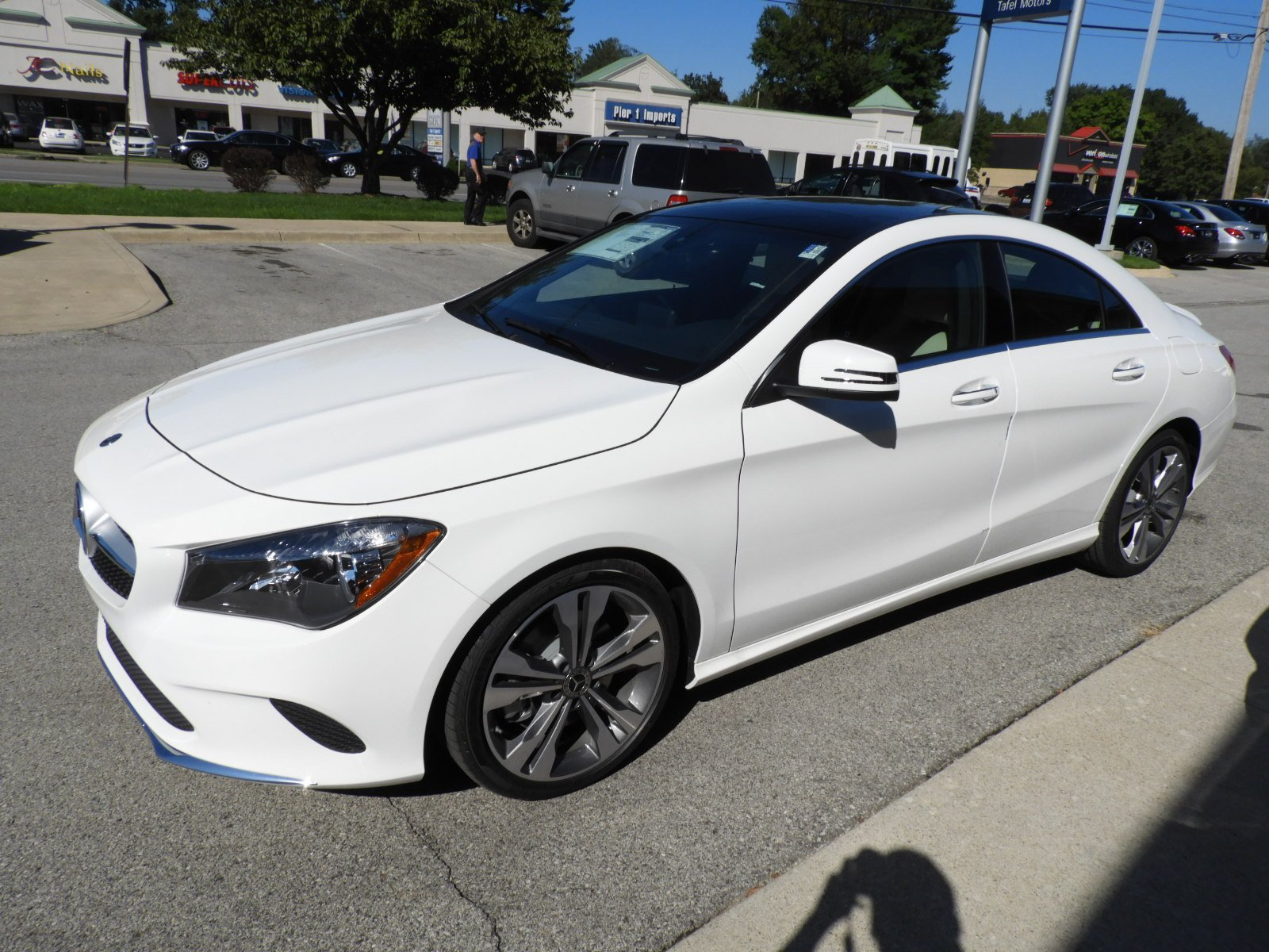 New 2019 Mercedes Benz Cla Cla 250 4matic 4 Door Sedan