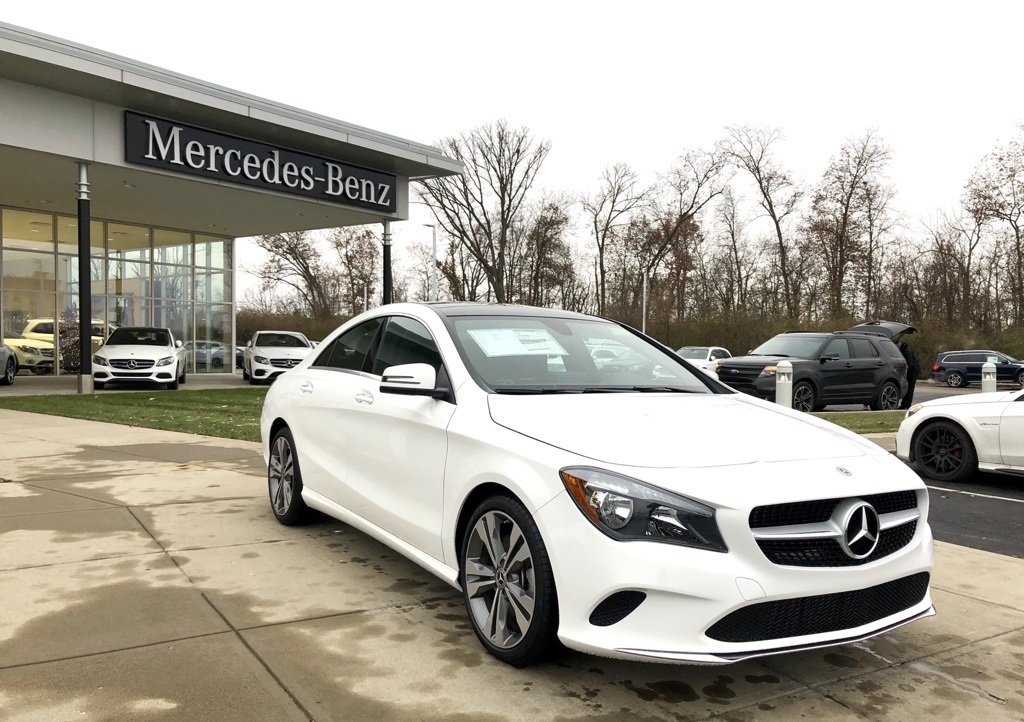 New 2019 Mercedes-Benz CLA CLA 250 4MATIC® 4-Door Coupe