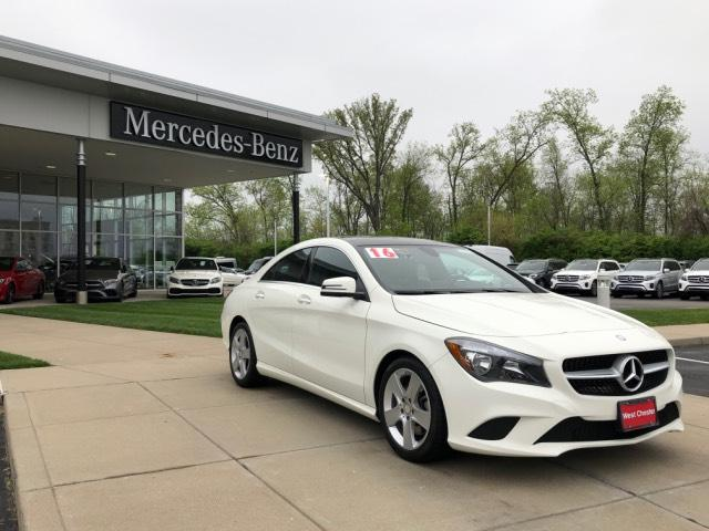 Certified Pre Owned 2016 Mercedes Benz Cla Cla250 4matic Coupe