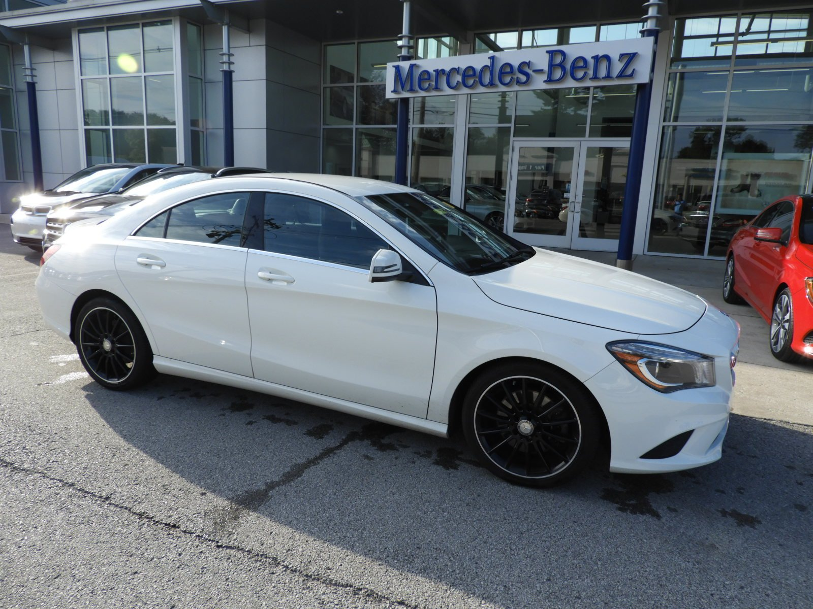Certified Pre Owned 2014 Mercedes Benz CLA CLA 250 4MATIC® 4 Door