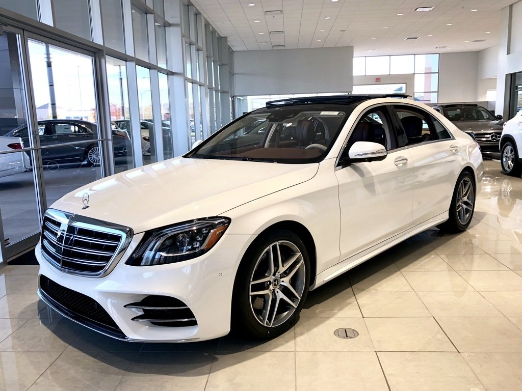 New 2018 mercedes benz s class s 560 4matic sedan 4dr car for Mercedes benz louisville