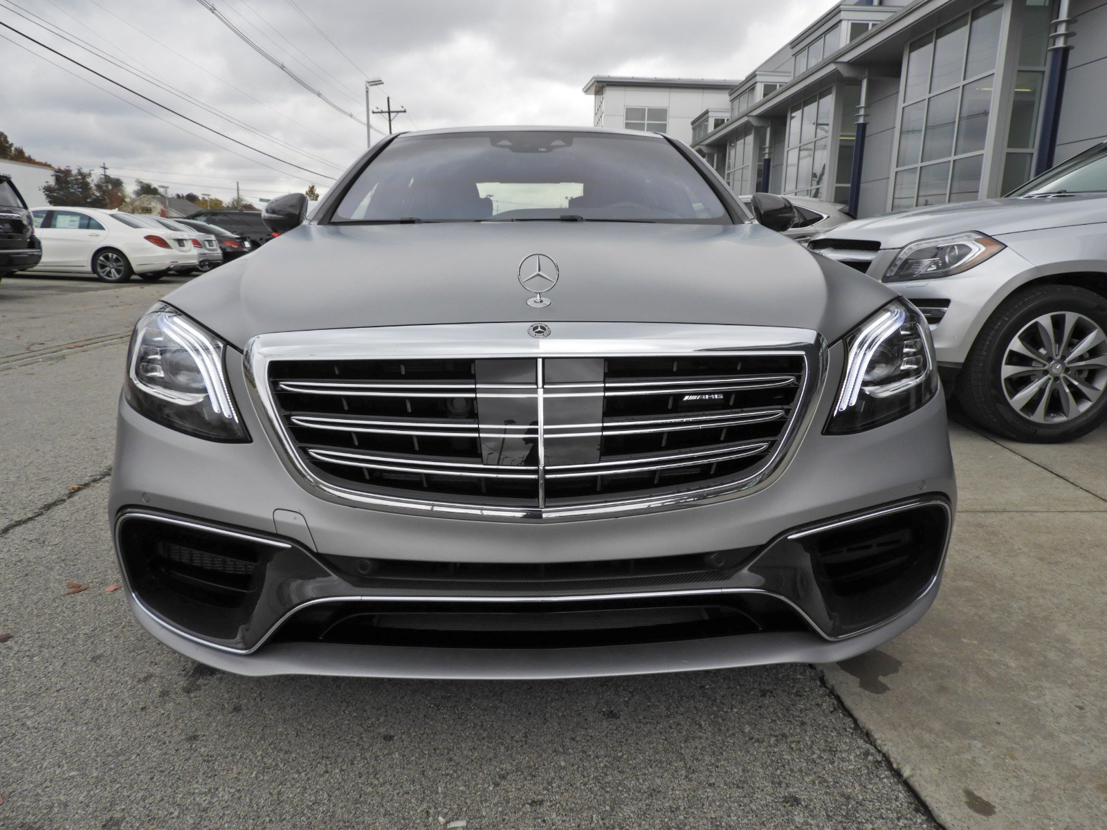 Certified Pre Owned 2018 Mercedes Benz S Class S 63 AMG 4MATIC