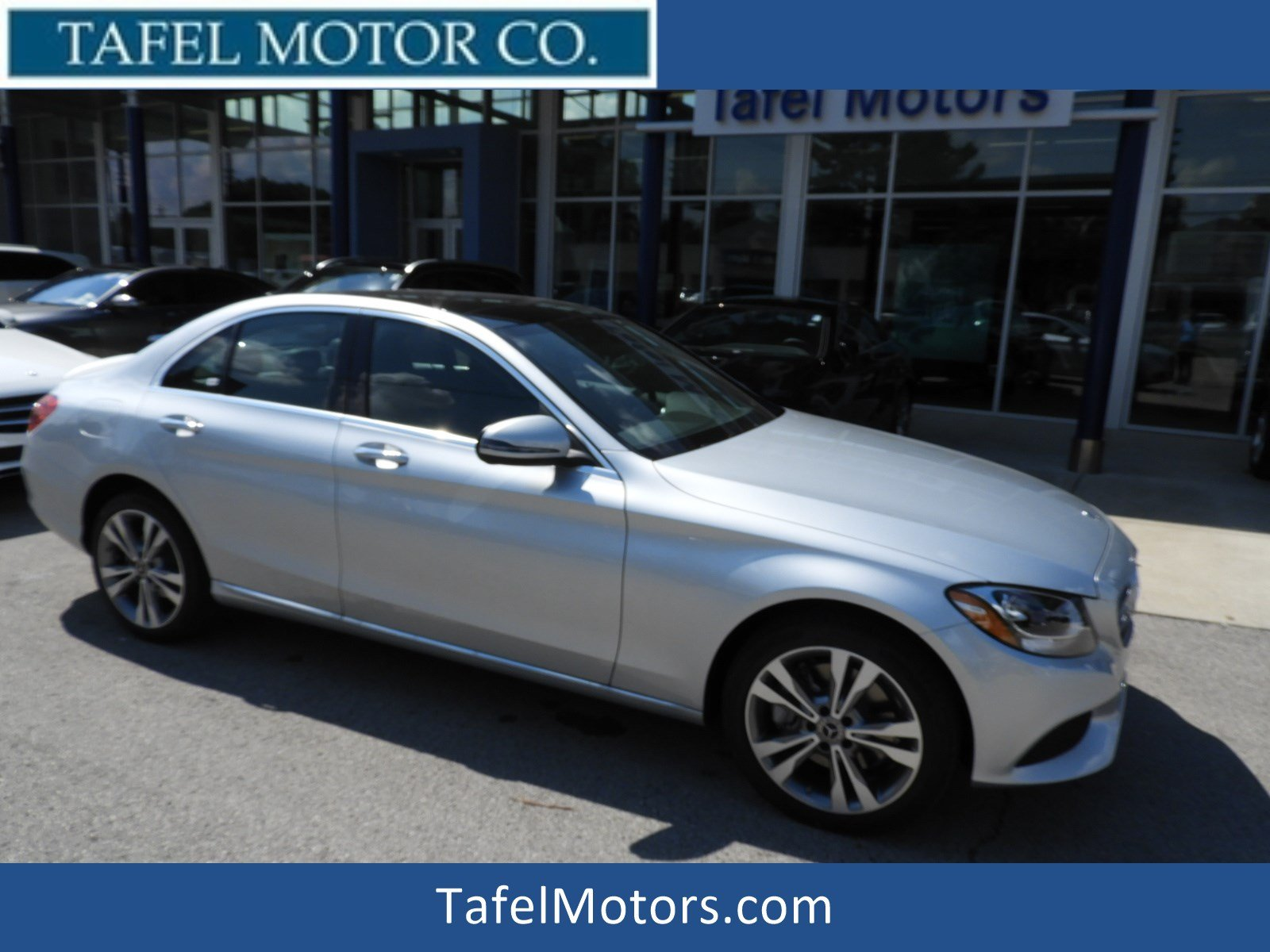 New 2018 Mercedes Benz C Class C 300 4MATIC Sedan 4dr Car in