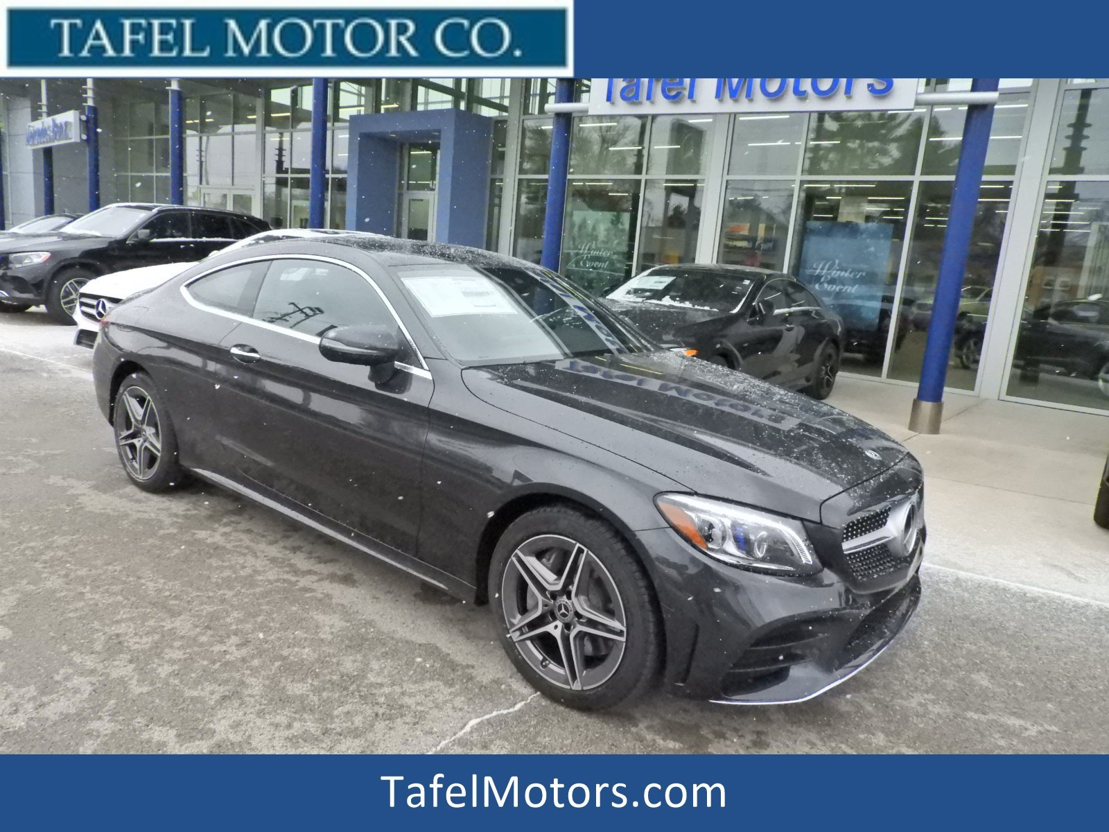 New 2019 Mercedes Benz C Class C 300 4MATIC Coupe Coupe in