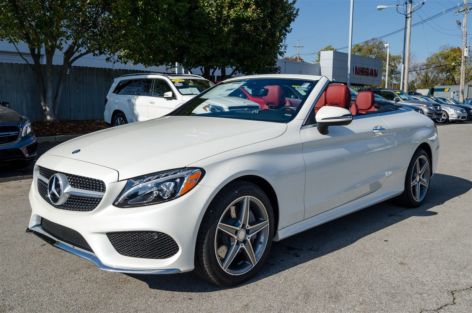 New 2017 mercedes benz c class c 300 4matic cabriolet for Mercedes benz credit card review