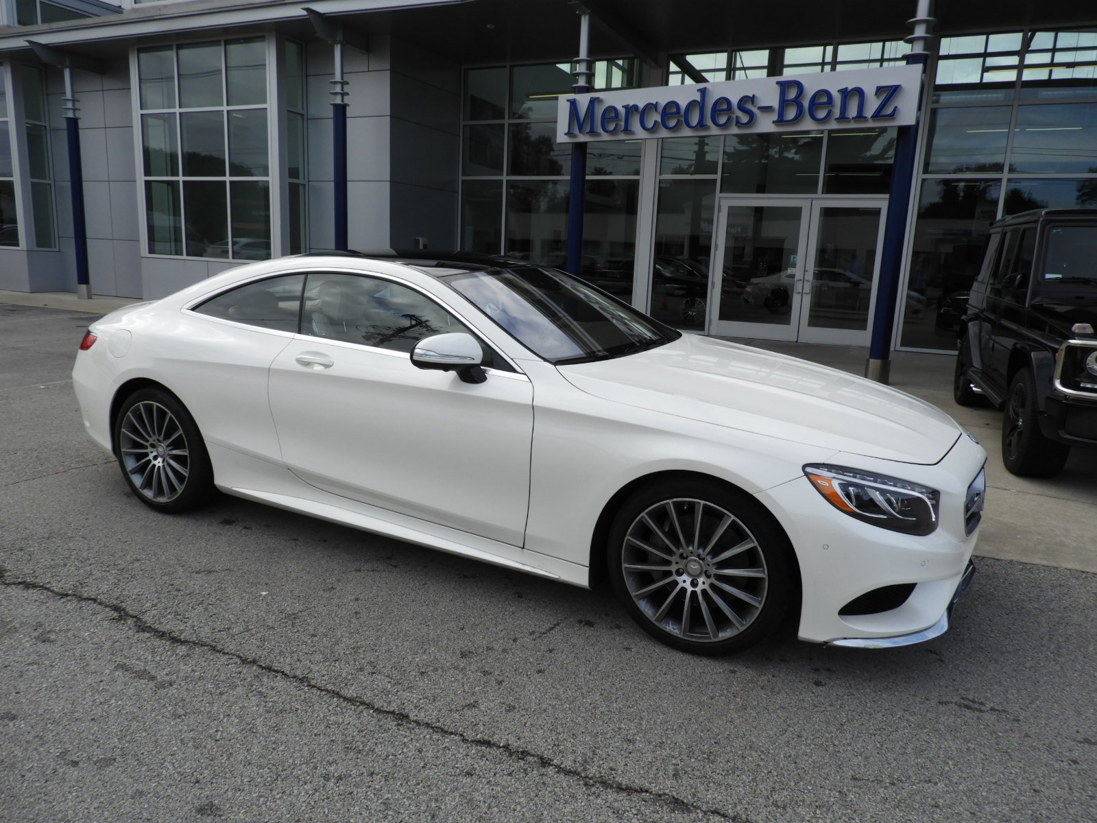 Certified Pre Owned 2015 Mercedes Benz S Class S 550 4MATIC® Coupe