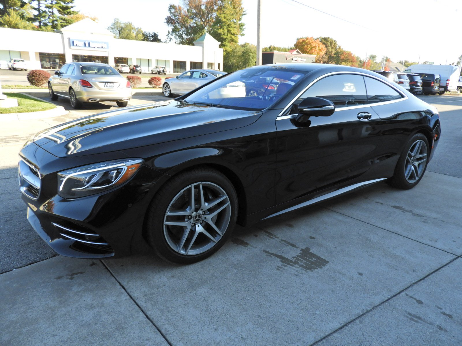 Pre Owned 2018 Mercedes Benz S Class S 560 4MATIC Coupe Coupe in