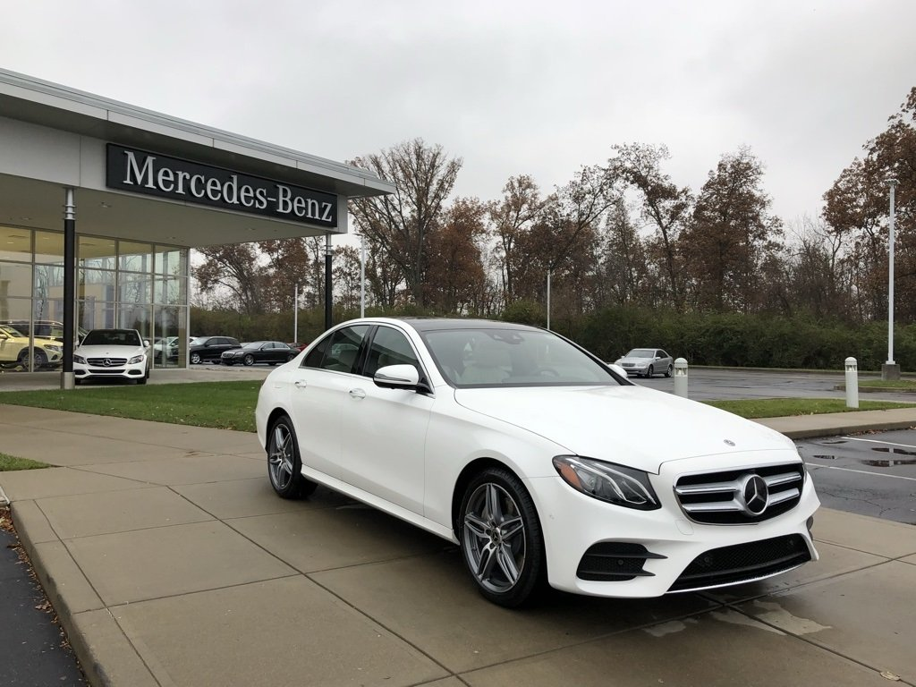 New 2019 Mercedes-Benz E-Class E 300 4MATIC® Sport Sedan