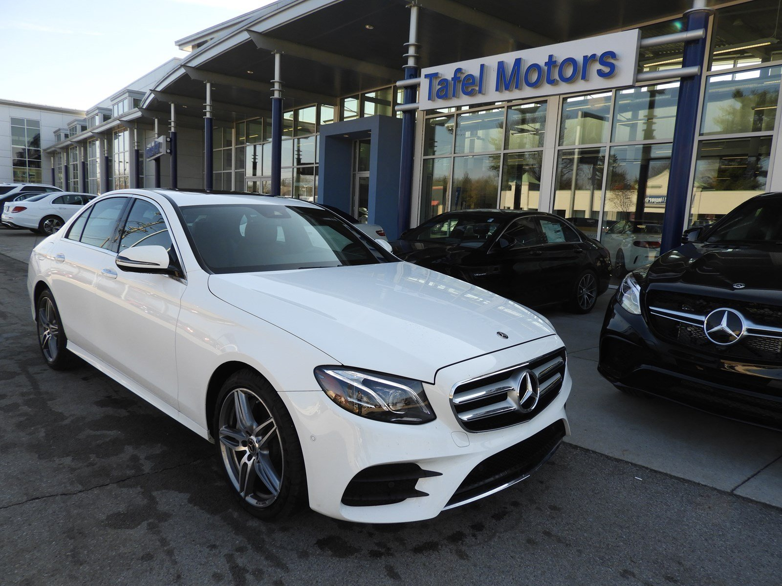 certified pre owned 2017 mercedes benz e class e 300 4matic sport sedan 4dr car in louisville. Black Bedroom Furniture Sets. Home Design Ideas