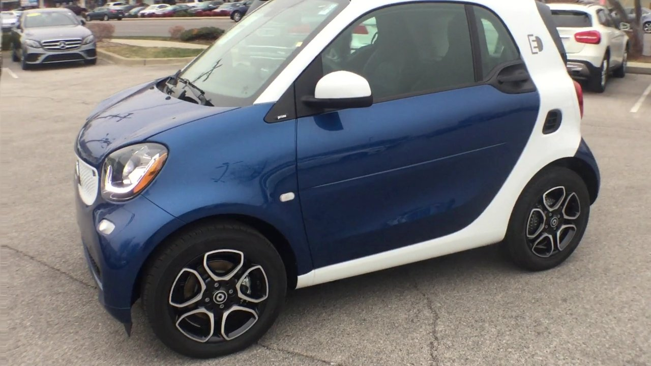 New 2018 Smart Fortwo Electric Drive Prime Coupe 2dr Car