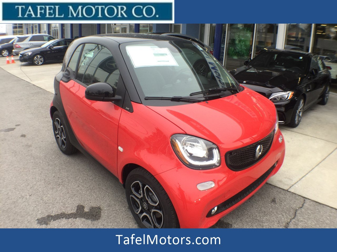 New 2018 smart fortwo Electric Drive Prime Coupe