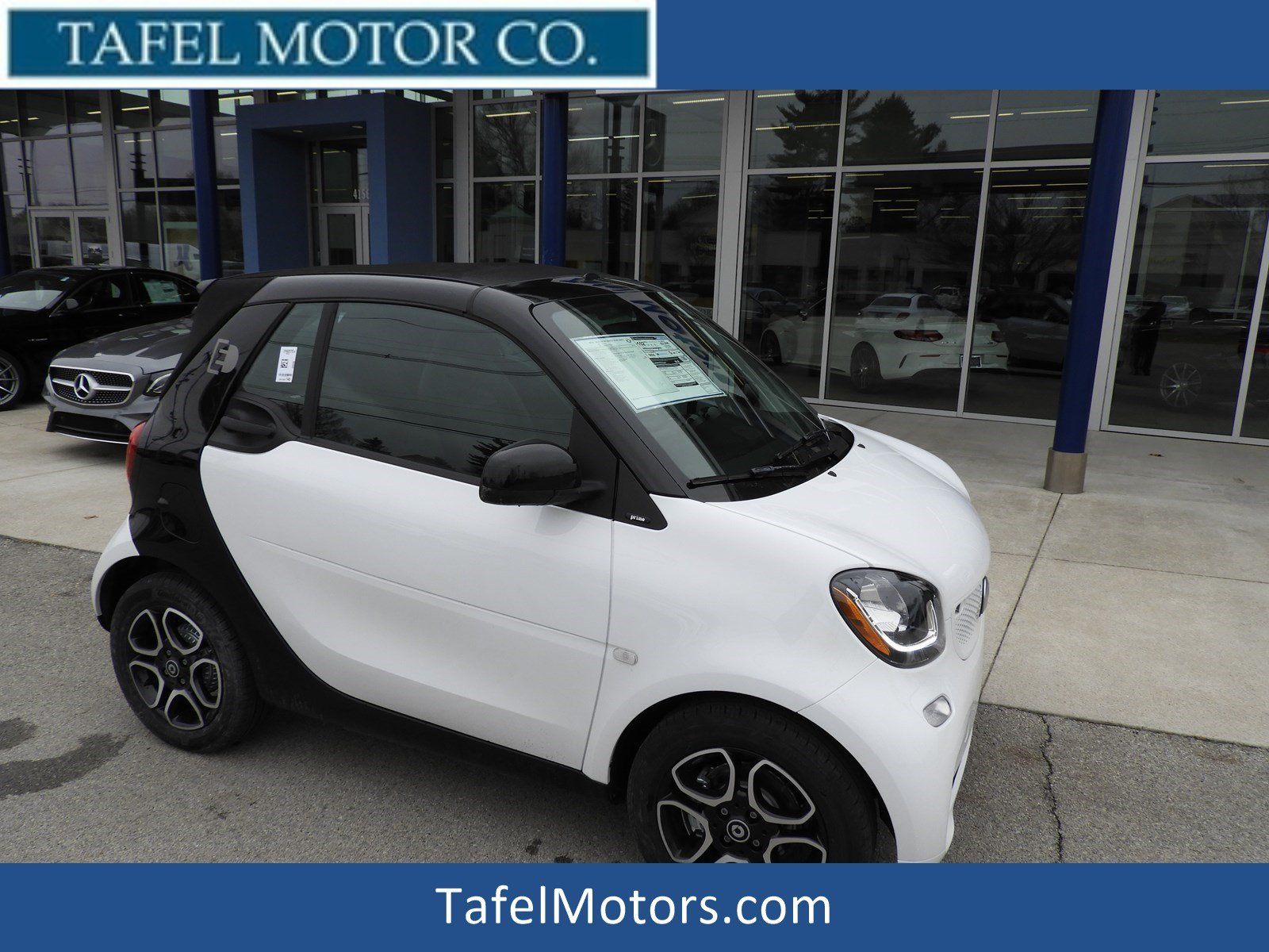 New 2018 smart fortwo Electric Drive Convertible