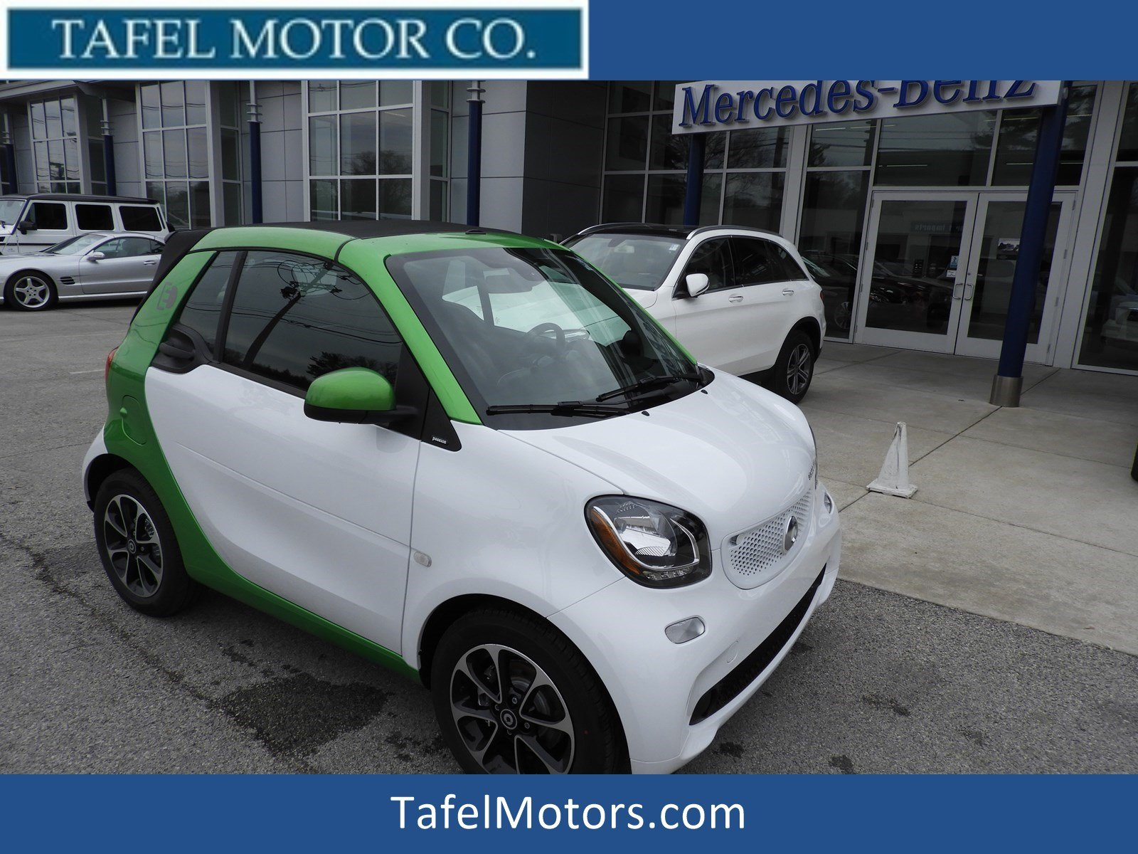 New 2017 Smart Fortwo Electric Drive Pion Cabriolet