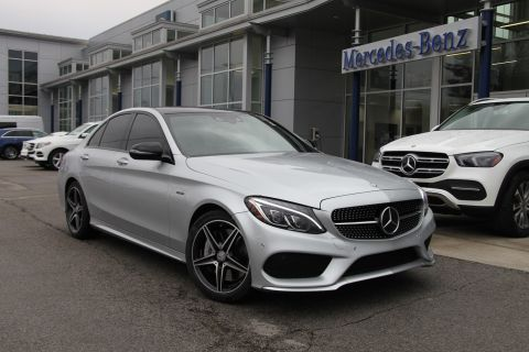 Certified Pre-Owned 2016 Mercedes-Benz C-Class C 450 AMG® 4MATIC® Sedan