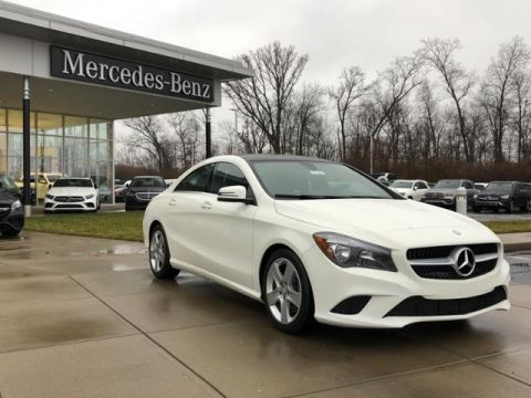 Certified Pre-Owned 2016 Mercedes-Benz CLA CLA250 4MATIC® Coupe