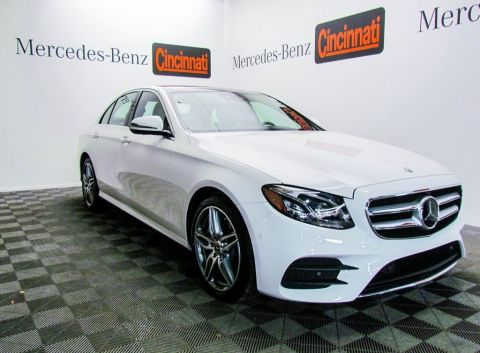 New 2018 Mercedes-Benz E-Class E 300 4MATIC® Sport Sedan