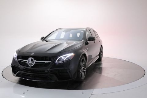 Certified Pre-Owned 2018 Mercedes-Benz E-Class AMG® E 63 S 4MATIC® Wagon